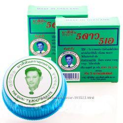 Натуральная отбеливающая зубная паста 5STAR5A из Таиланда
