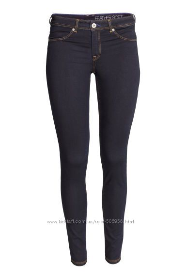 Темные джинсы H&M, р. 28