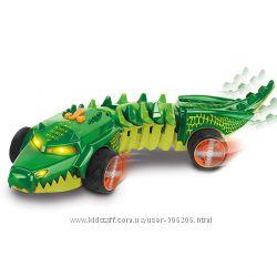 Машинка Hot Wheels Крокодил Hot Wheels Commander Croc  свет, звук, движ