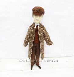 Доктор Ватсон  кукла текстильная, персонаж