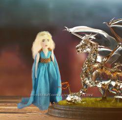 Игра престолов  Кукла текстильная Дейенерис Мать драконов