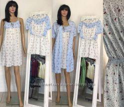 4077e009a538b Комплект для беременных и кормящих халат, сорочка, пижама, 485 грн ...