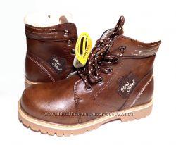 Зимние ботинки для мальчика, качественные, теплые р. 37 ТМ Clibee Польш