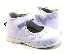 Туфельки для маленькой принцессы, отличного качества р.21 ТМ Apawwa