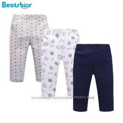 Качественные детские штаники на резинке мальчику 6-9мес, 100 хлопок