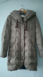Брендовое пальто пуховик Tahari размер XS