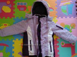 Теплая куртка  из Германии на рост110-116