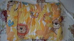 Комплект в детскую кроваткуодеялоподушка