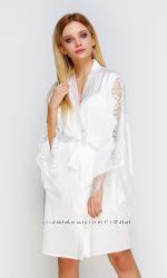 Serenade домашние атласные халаты шелк сатин