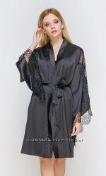 Serenade шелковая атласная домашняя одежда халат пижама сорочка