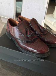 Итальянские туфли Marco , цвет бордо