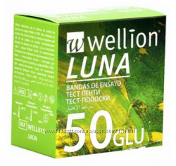 Тест-полоски Wellion Luna Duo 50 шт. Австрия