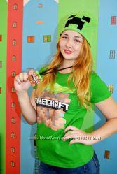 Майнкрафт-аниматоры на День рождения minecraft Киев Борисполь