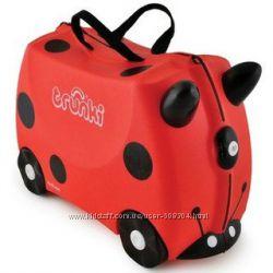 Детский дорожный чемоданчик Trunki LADYBUG HARLEY божья коровка TRU-L092
