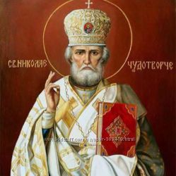 Набор алмазной живописи икона Николай Чудотворец