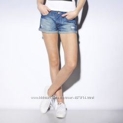 Джинсовые шорты adidas neo