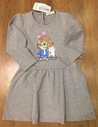 Платье breeze для девочки  р-р от 98 до122