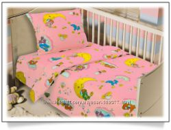 Детское постельное белье ткани Блакит