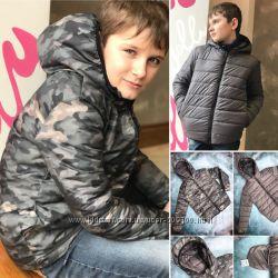Двохсторонні курточки для хлопців, демісезонні курточки дл хлопців