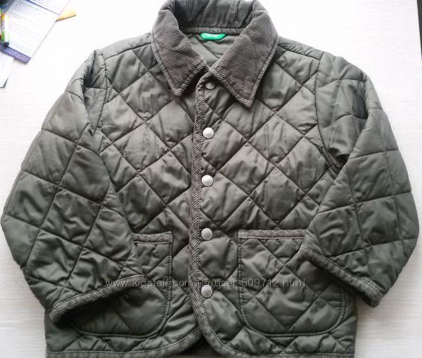 куртка benetton на мальчика 2 - 3 года