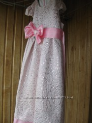 платье нарядное  девочке 6, 7, 8 лет р.122-128-134