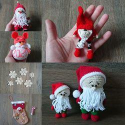 Декоративные новогодние игрушки