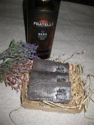 омолаживающее мыло на красном вине ручной работы с нуля