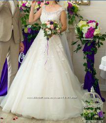 Итальянское свадебное платье ALBERTA FERRETTY Салон AFINA LUXURY