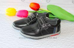 Школьные детские  туфли для мальчиков