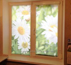 Фотопечать на ролетах цветочная тематика