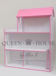 Домики для разных кукол Барби, Еви, Лалалупси. Бесплатная доставка.