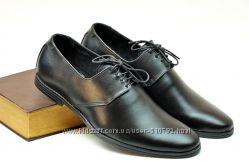 Туфли на шнурке, 39, 40, 41, 42, 43, 44, 45р. К431.