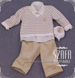 Нарядный и строгий костюм для мальчика на первый день рождения Krasnal