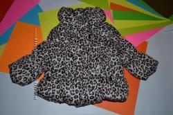 Демисезонная куртка для девочки 3-6 мес, большемерит на 9-12 месяцев