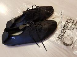 Кожаные танцевальные туфли, балетки Bleyer р. 35 - 36