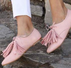 Пошив обуви Туфли кисточки