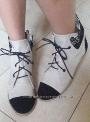 Пошив обуви Кеды под Шанель