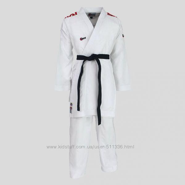 Кимоно Smai JIn Elite для Каратэ - Кумитэ WKF. Красные погоны.