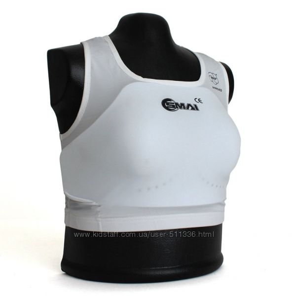 Защита груди Smai для Каратэ WKF. Женская.