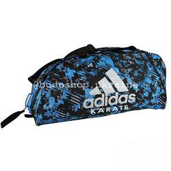Спортивная сумка Adidas - Karate Camo. Синяя.