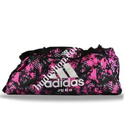 Сумка - рюкзак Adidas Judo Camo. Розовый камуфляж.