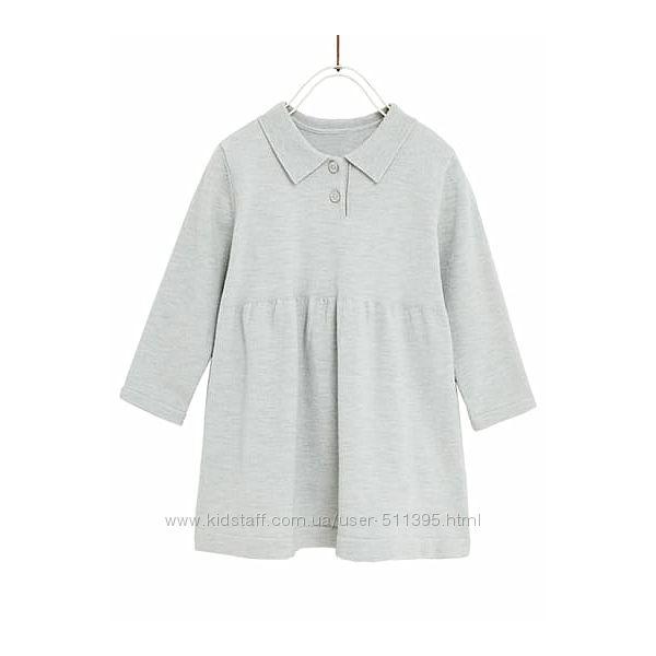 Платье поло Zara. Испания. На 9-12 месяцев.