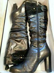 Сапоги кожаные 39 размера