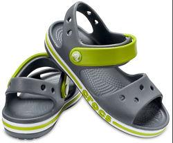 Сандали кроксы Crocs Bayaband sandal, С10 и J3 размер