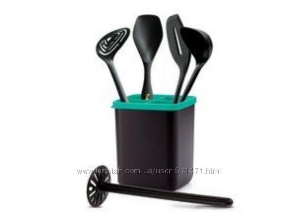 Кухонные приборы и подставка Диско, Tupperware