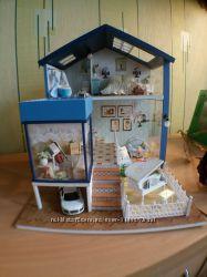Кукольный домик миниатюрный