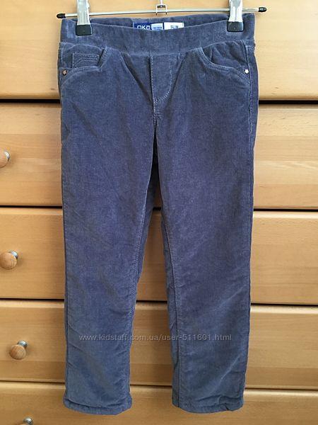 Утепленные штаны на флисе Okaidi, 110 р