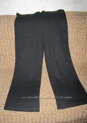 Штаны брюки женские, трикотажные, чёрные