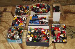 Большая коллекция детских конструкторов Lego и конструкторов-аналогов