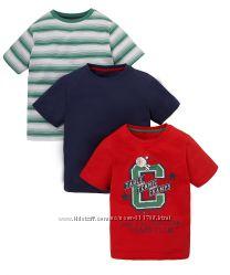 Футболки Mothercare футболка- 3 шт. 98, 104